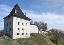 Castle in Halych Royalty Free Stock Photography