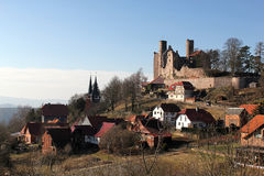 Castle Hanstein in Thuringia Stock Photography