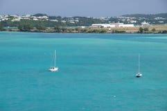 Castle Harbor, Bermuda. View over Castle Harbor, Bermuda Royalty Free Stock Photo