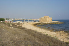 Harbour of Paphos Royalty Free Stock Images