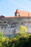 Castle Harburg in Germany. Castle Harburg in Bavaria, Germany, Europe Stock Photo