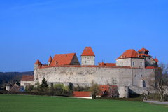 Castle Harburg stronghold Stock Image