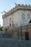 Castle of Haut de Cagnes Stock Images