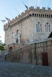 Castle of Haut de Cagnes Stock Images