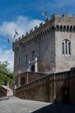 Castle of Haut de Cagnes Stock Photos
