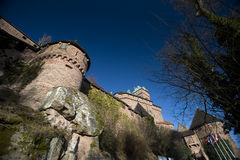 Castle of Haut-Koenigsbourg Royalty Free Stock Image