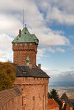 Castle of Haut-Koenigsbourg, Alsace, France Stock Photography