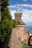 Castle Haut-Koenigsbourg in Alsace, France Stock Photo