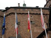Castle Haut-Koenigsbourg Royalty Free Stock Photography