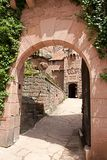 Castle of Haut-Koeningsbourg Stock Photo