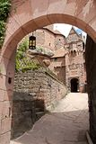 Castle of Haut-Koeningsbourg Stock Photography
