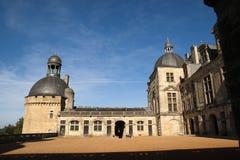 Castle Hautefort Dordogne France Stock Images