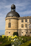 Castle Hautefort Dordogne France Royalty Free Stock Photo