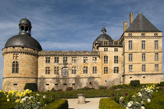 Castle Hautefort Dordogne France Royalty Free Stock Photography