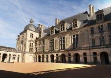 Castle Hautefort Dordogne France Stock Photo