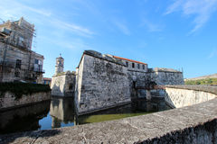 Castle in Havana Royalty Free Stock Photography