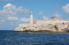 Castle at Havana Harbour Royalty Free Stock Image