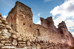 Castle. hdr Photo Stock Photography