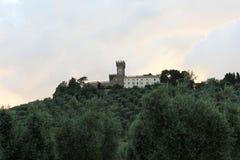 Castle on the headland Stock Photos