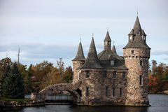 Castle on Heart Island Royalty Free Stock Photography