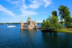 Boldt Castle, Thousand Islands, New York state, USA. Castle on Heart Island, one of the Thousand Islands, New York state, USA stock images