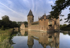 Castle Heeswijk σε Bernheze Στοκ Φωτογραφία