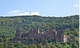 Castle in Heidelberg Stock Photography