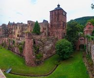 Castle in Heidelberg Stock Images