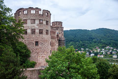 Castle in Heidelberg Royalty Free Stock Photos