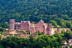 Castle of Heidelberg Germany Stock Photo
