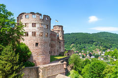 Castle Heidelberg in Germany Royalty Free Stock Photos