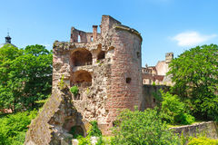 Castle Heidelberg in Germany Royalty Free Stock Images