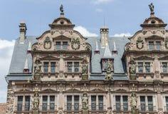 Castle of Heidelberg (Heidelberger Schloss) Royalty Free Stock Photography