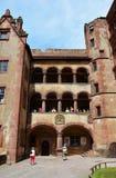 Castle of Heidelberg Royalty Free Stock Image