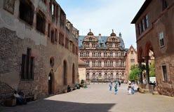 Castle of Heidelberg Stock Images