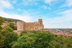 Castle Heidelberg Stock Photos
