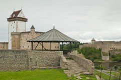 castle Herman  in Narva, Estonia Royalty Free Stock Image