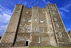 Castle on the hill above Dover, United Kingdom (UK) Stock Photos