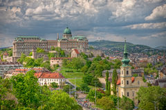 Castle Hill - Budapest stock photo