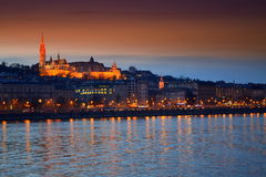 Castle hill Budapest Hungary Royalty Free Stock Photo