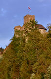 Castle on the hill Royalty Free Stock Image