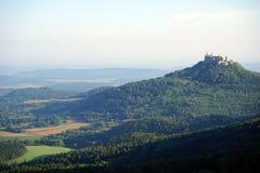Castle on the hill Stock Photos