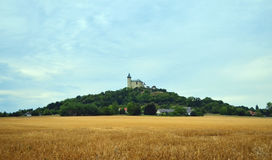 Castle on the hill - Kuneticka hora Stock Photography