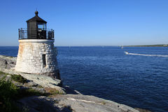 Castle Hill lighthouse Royalty Free Stock Photos