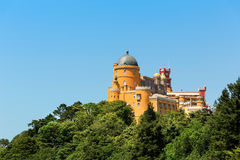 Castle on the hill Stock Photography