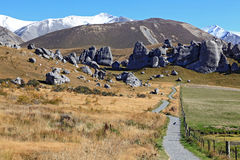 Castle hill New Zealand Royalty Free Stock Photos