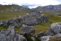 Castle Hill. In New Zealand stock images