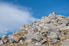 Castle Hill, New Zealand Royalty Free Stock Image