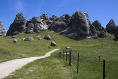 Castle Hill in New Zealand`s South Island Royalty Free Stock Photography