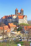 Castle hill Quedlinburg, Germany Royalty Free Stock Photo